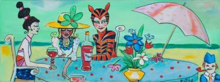 Gastmahl mit Miss Tigra