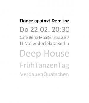 Dance against Demänz 0